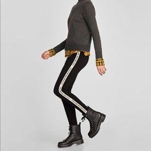 """NWOT Zara """"This is me walking out"""" leggings"""